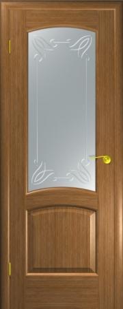 Дверь Севилья Золотой дуб (гравировка)