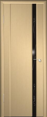 Дверь Гром-1 Беленый дуб (Альстека)