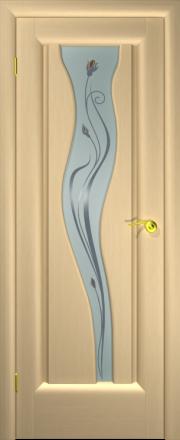 Дверь Лагуна-4 Беленый дуб