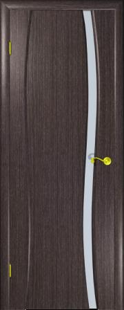 Дверь Сорренто-1 Абрикос черный