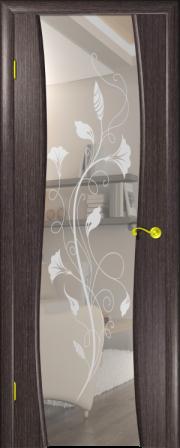 Дверь Камелия-3 Черный абрикос