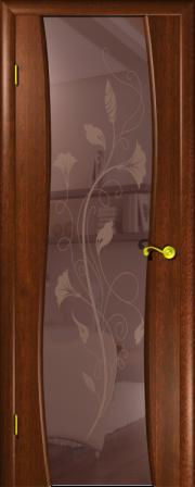 Дверь Камелия 3 Красное дерево