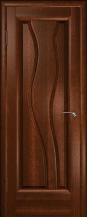 Дверь Лагуна Красное дерево (глухое полотно)