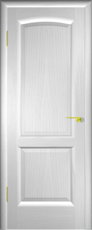 Дверь Мадрид Ясень белый (глухое полотно)