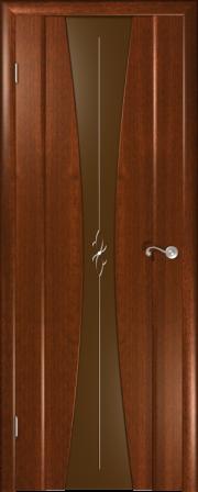 Дверь Версаль Красное дерево
