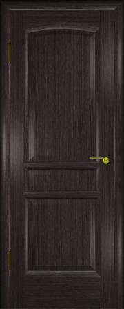 Дверь Натали Черный абрикос (глухое полотно)