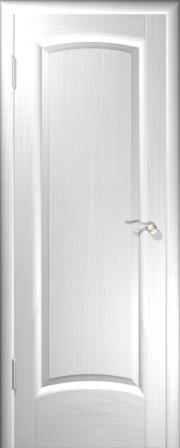 Дверь Верона Ясень белый (глухое полотно)