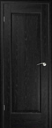 Дверь Ирис Черный ясень (глухое полотно)